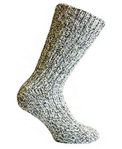 4 paires de chaussettes Art of Baan® - Épaisses - Chaudes - En laine - Couleurs mélangées - Multicolore - Taille 39-42