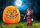 PLAYMOBIL Calabaza de Halloween - Vampiresa 9895 - Viene En Bolsita Desde Fábrica