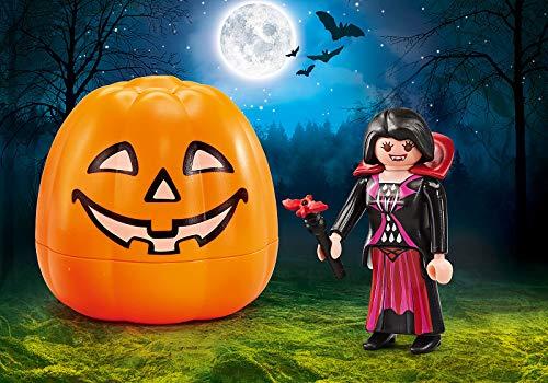 PLAYMOBIL Calabaza de Halloween: Vampiresa