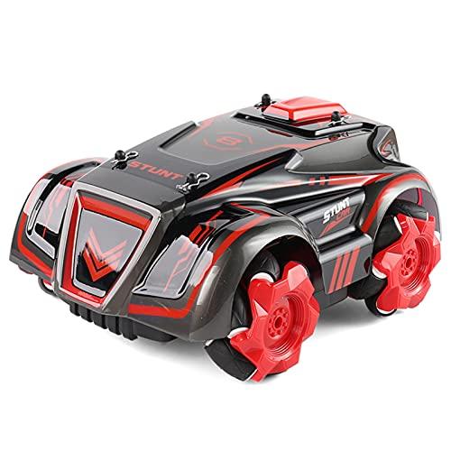 Festnight C028S RC Stunt Car Remote Car Drifting Car para niños Niños 2.4G Rotación de 360 ° con luz LED y música RC Car Gift para niños