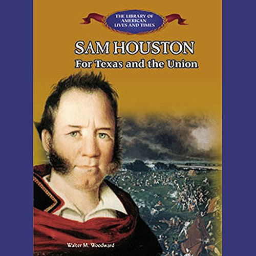 Sam Houston audiobook cover art