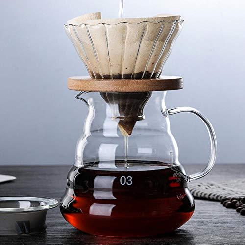 400Ml/600Ml/2 kopjes klassieke Espresso koffiezetapparaat trechter stijl gieten over koffiemachine koffiemachine Filter koffiepot Barista Style7-600ml