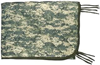 ARMY ACU DIGITAL COLD/WET WEATHER PONCHO LINER WUBBIE BLANKET