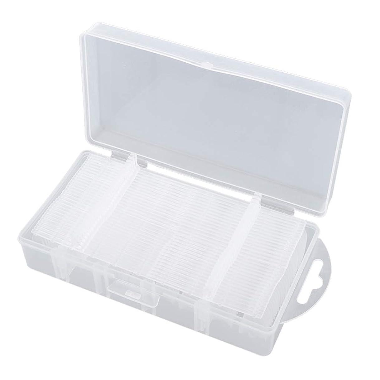 ダメージ風邪をひく市場T TOOYFUL ネイルチップ 300枚入り つけ爪 付け爪 クリア ネイル練習 ハンド マニキュア 全3種類 - #2