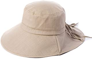 WN - Sombrero - Sombrero de verano para mujer Protección solar para el sol Sombrero japonés para el arte Pescador Sombrero para el sol Sombrero de playa UV para estudiantes Plegable (3 colores) Sombre