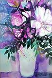 Poster 20 x 30 cm: White Peonies with Lilac de Johann Pickl - Reproduction Haut de Gamme, Nouveau Poster