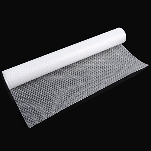 Fdit Protectores Rollo Anti Deslizante EVA Antideslizante de Armario Transparente sin Adhesivo Armario Revestimiento Cajón Tapa de Tabla (6#)