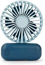Hui Jin Mini ventilateur portable USB rechargeable à piles pour la maison, le bureau, la chambre et les voyages en plein a...