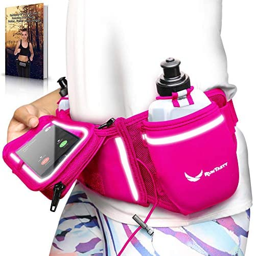 Voted No 1 Hydration Belt Pink Winners Running Fuel Belt Includes Accessories 2 BPA Free Water product image