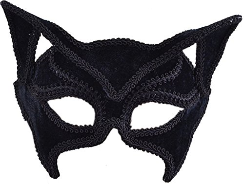 Cat Black. Glass Frame