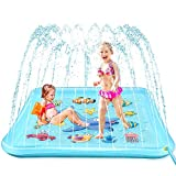 EpochAir Splash Pad - 67' Sprinkler for Kids, Inflatable Wading Pool Outdoor Water Toys Summer Fun Game, Perfect Swimming Pool Toy for Babies and Toddlers