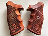 Feelsogood New! Grips Compatible with Taurus Medium/Large Frame.357 M44, 65, 66, 80, 82, 83, 96, 431, 441, 607, 608, 669 - Checker Pattern #7 (Thai Handmade & Ship from Thailand)