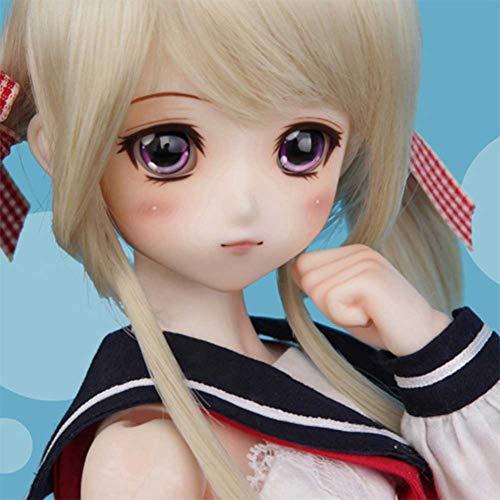 ZDD 1/4 SD BJD Doll 40 cm Puppen Überraschungsgeschenk mit Vollständiger Satz Kleider Schuhe Perücke Bilden DIY Spielzeuge zum Geburtstag
