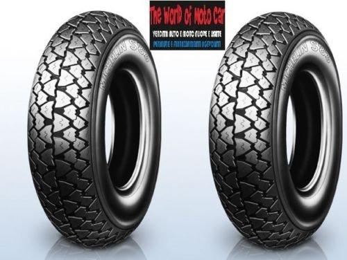 Par de 2x neumáticos Michelin S83DOT 2016. Tamaño: 3.50 R10para Vespa PX 125150200