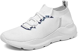 AUCDK Women Lightweight Trainers Breathable Knit Mesh Upper Non Slip Sports Shoes for Running and Athletic Training