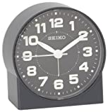 Seiko 3' Compact & Lightweight Bedside Alarm Clock