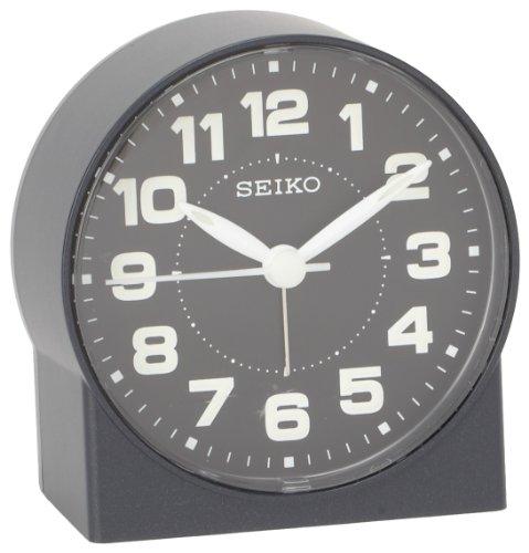 Seiko Kompakter und Leichter Nachttisch-Wecker, 7,6 cm.