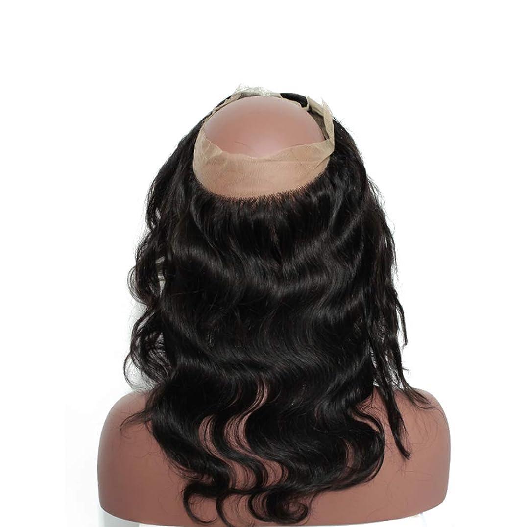 摩擦文献六女性360レースヘアブロック8aブラジル実体波閉鎖人間の髪未処理ブラジルバージンヘア実体波人間の髪