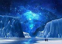HD JSCTWCL10x7ft氷の世界の背景氷と雪の南極点の写真の背景写真の青い空の背景YouTubeの背景006