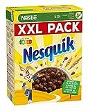 Nestlé Nesquik Knusper-Frühstück, Schoko Cerealien mit Vollkorn, 1er XXL Pack (1 x 1kg)