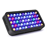 Roleadro LED Aquarium Light, Dimmable Coral Reef Led Light 165W for Fish Tank, Full Spectrum Coral Reef Grow Light Suitable for 55-75 Gallon Freshwater and Saltwater Galaxyhydro