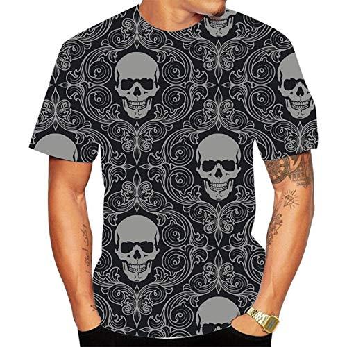 SSBZYES Camiseta para Hombre Camiseta De Verano De Manga Corta para Hombre Camiseta De Cuello Redondo Camiseta Estampada De Moda Camiseta De Gran Tamaño para Hombre Camiseta De Pareja De Moda para