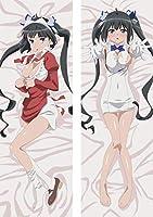ダンジョンに出会いを求めるのは間違っているだろうか ダンまち ヘスティア 両面プリント ピーチスキン キャラグッズ アニメ 等身大 抱き枕カバー Anime Pillow Cover【サイズ選択可】