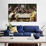 Leonardo Da Vincis Abendmahl Poster Und Drucke Wall Art