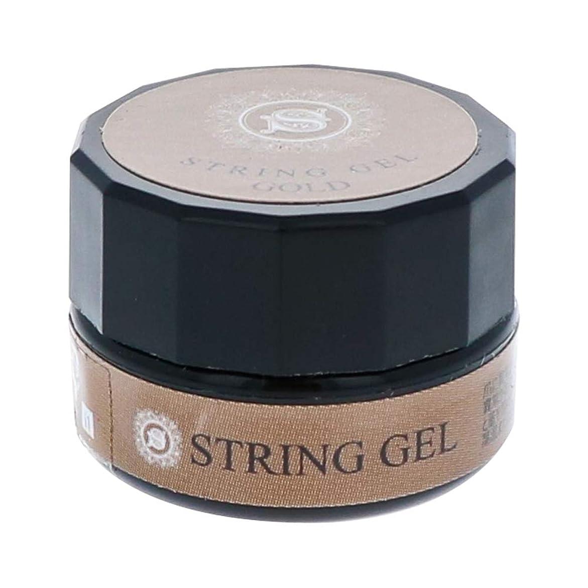 キルト脅迫区別するビューティーネイラー simply string gel (gold) 2.5g QSG-1