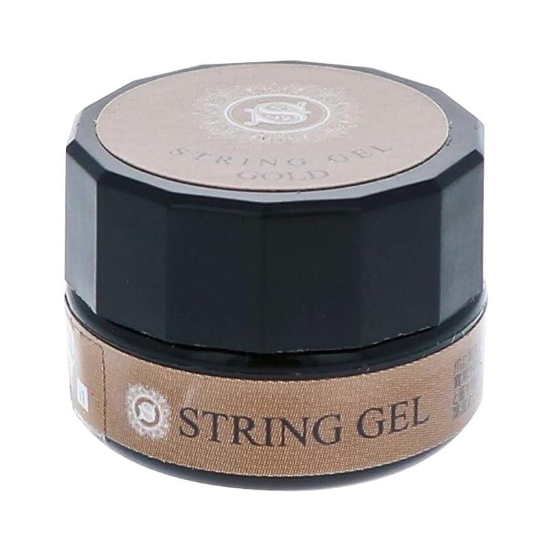 鋸歯状認める批判ビューティーネイラー simply string gel (gold) 2.5g QSG-1 ジェルネイル