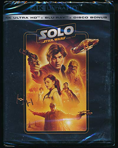 Star Wars Story Solo Uhd 4K (3 Blu Ray)