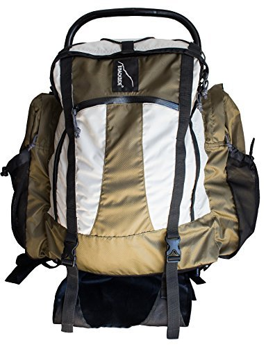 The Backside by Black Pine Xterno II Backpack, Green/White