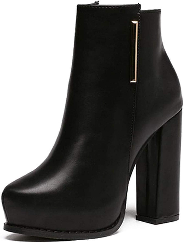 LBTSQ-joker tac  alti stivali ttuttione di 10cm velvet martin stivali breve stivali impermeabili tabelle moda sautope da donna.