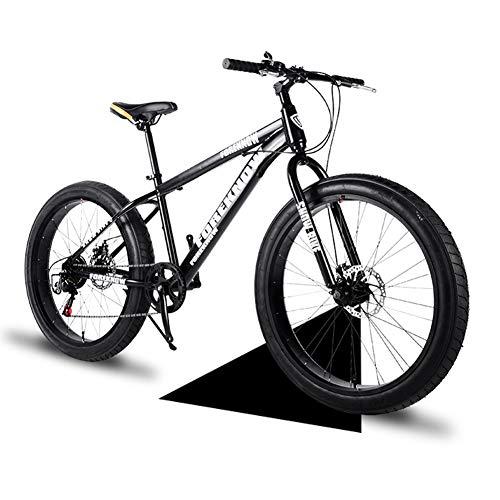 Hmcozy Mountain Bike 26 Zoll 21/24/27 Geschwindigkeit Männer Hardtail Mountainbike Carbon Steel Mountainbike Full Suspension Fahrrad,B,21 Speed