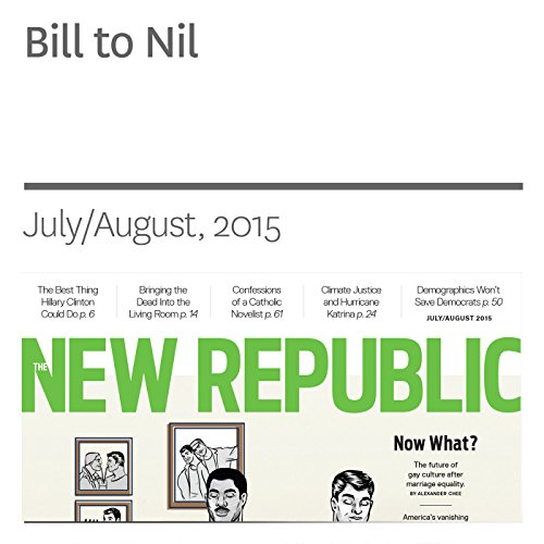 Bill to Nil audiobook cover art
