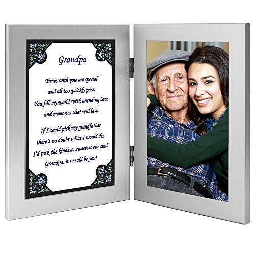 Gift for Grandpa - Grandfather Poem from Grandson or Granddaughter – Add Photo
