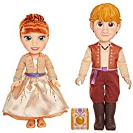 From frost to forest, this couples' devotion to one another continues to flourish! Comes with ring for you and a ring box! Authentic film details and designs for Frozen 2 fans! Includes: 1 Anna Doll with 1 Dress, 1 Pair of Shoes and 1 Hair Clip, 1 Kr...
