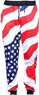 Dorathy Men Fashion 3D Space Galaxy Joggers Pants Hip Hop Trousers Sweatpants