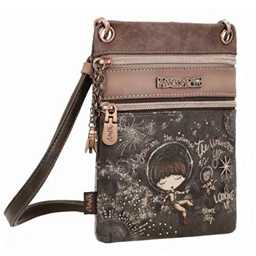 Creaciones Pandora Simpática mini bolso bandolera Anekke con impresión colección Universo 31702-03-905UNC