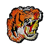 Oyfel Patch Ecusson Brodé Thermocollant Couture Main Coudre Art Lot Tigre
