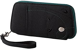 Women's Small Fortitude Eco-Friendly RFID Blocking Zip Closure Clutch Wallet