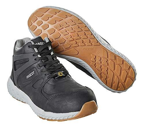 Mascot Sicherheitsstiefel S3 Arbeitsschuhe F0304-901 - Footwear Move Herren 43 EU Schwarz