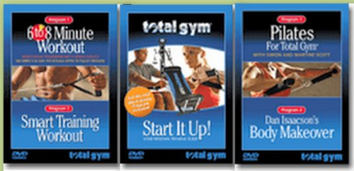 Total Gym Complete Fitness 3 DVD Set with 5 Workouts