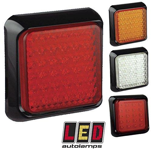 Feu arrière LED multivolt 12 V/24 V pour remorque/caravane
