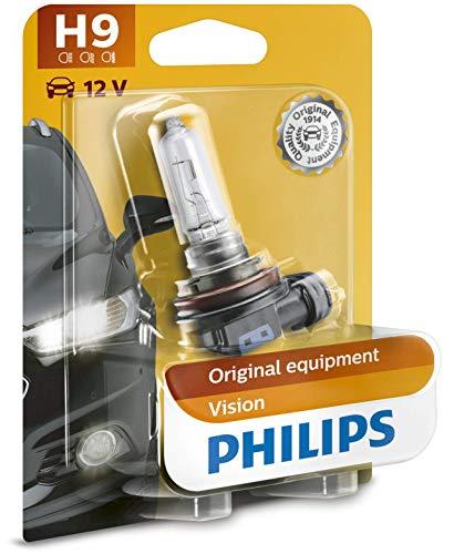 Philips 12361B1 Vision - Bombilla H9 para faros delanteros