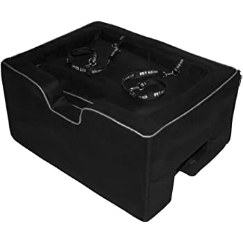 Pet Gear Lookout Booster Car Seat, Removable Comfort Pillow, Safety Tether Included, Installs in Seconds, No Tools Required