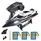 Best Rc Fishing Boats - XFUNY HJ806 RC Boat 2.4GHz 35km/h Fast Portable Review