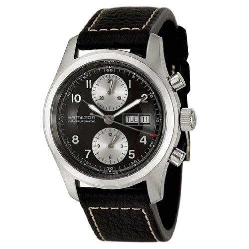 Hamilton Men's H71566733 Khaki Field Black Dial Watch