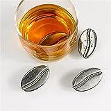 QinWenYan Cubitos de Hielo de Acero Inoxidable Acero Inoxidable Whisky Cooler Wine Refrigerando Piedras Cubos de Hielo Café Grano En Forma de Piedra para Casa (Color : 8PCS, Size : 1.6x1.6x1.6cm)