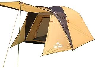 Hewflit オールインワンテントbigサイズ ツールームテント ツーリングテント 高さ175cm 3~4人用 キャンプ用品 テント ツールームドーム キャリーバッグ付 [並行輸入品]
